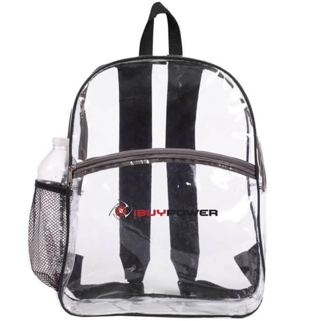 Clear Zipper Backpacks