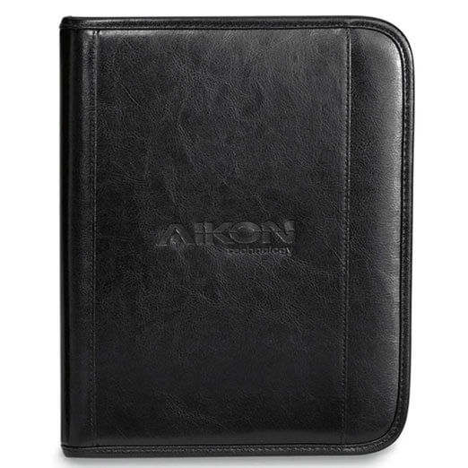 Deluxe Leather Wired Padfolio