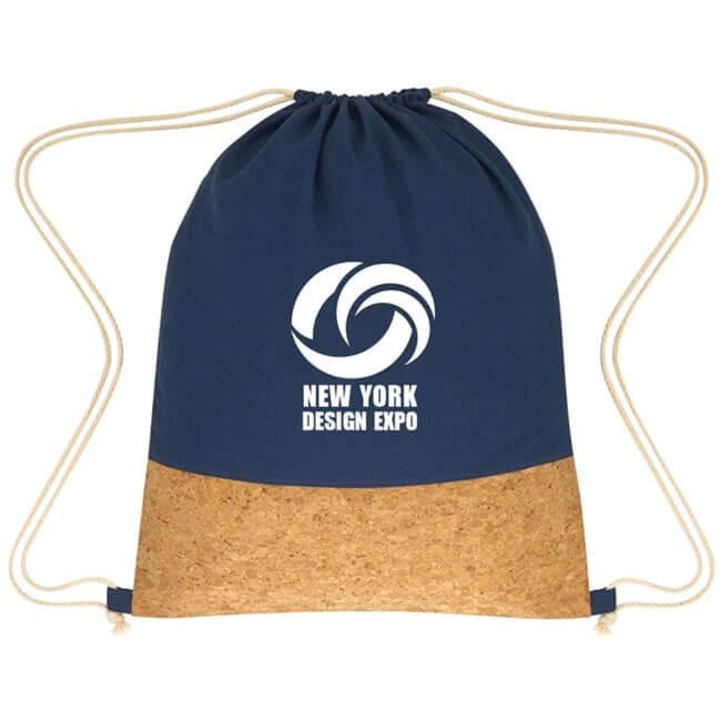 Cork Drawstring Backpacks