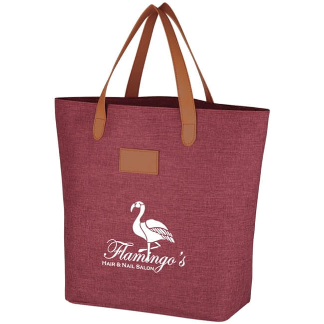 Heathered Tote Bags