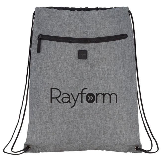 Graphite Drawstring Bags