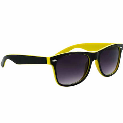 Two-Tone Malibue Sunglasses