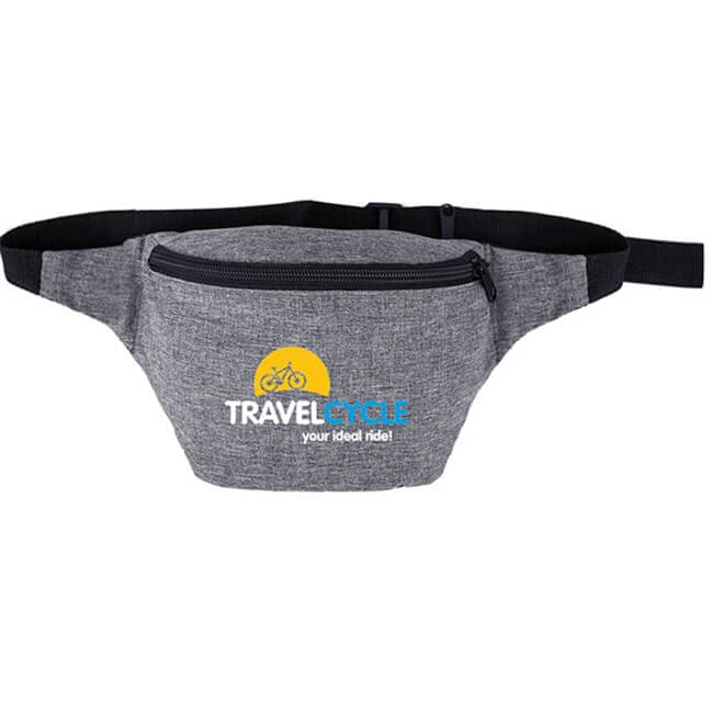 Heather Grey Fanny Pack