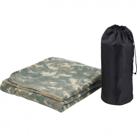 Wellington Blanket with Customizable Pouch