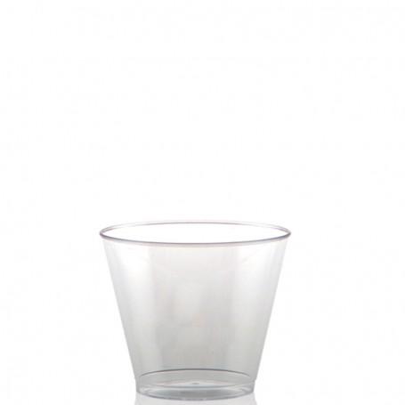 5 oz. Clear Plastic Rocks Cup