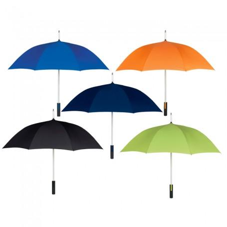 """Custom Logo 46"""" Arc Spectrum Umbrella"""