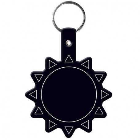 Custom Printed Sun Flexible Key-Tag