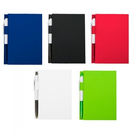 """Promotional 4"""" X 6"""" Notebook With Pen"""