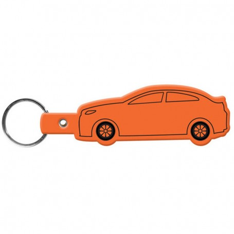 Imprinted Car Flexible Key-Tag