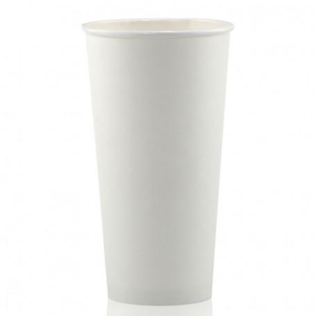 20 oz. White Paper Cups