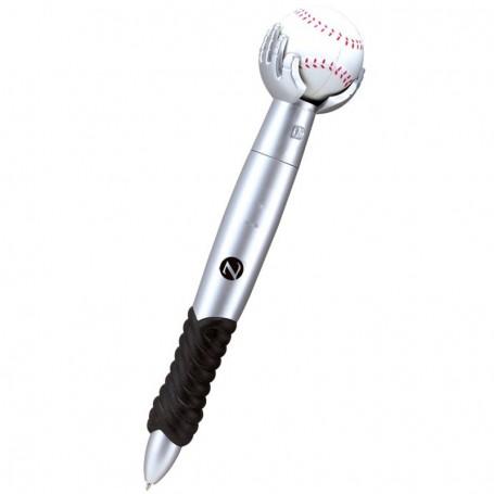 Printed Baseball Twist Pen