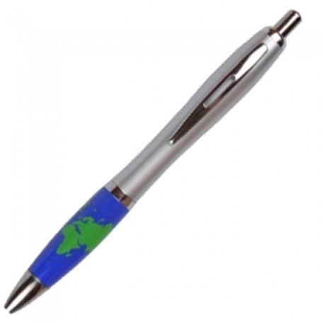 Personalized Emissary Click Pen - Global Theme