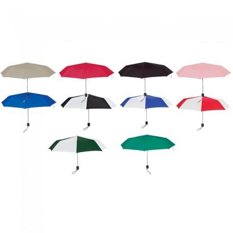 """Personalized 43"""" Arc Super-Mini Telescopic Folding Umbrella"""