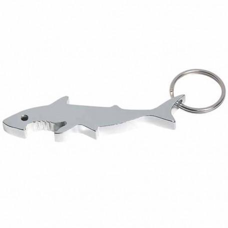 Printable Shark Bottle Opener Key Ring