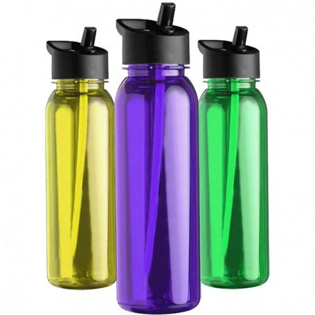 Promo 24 oz. Tritan Bottle with Flip Straw Lid