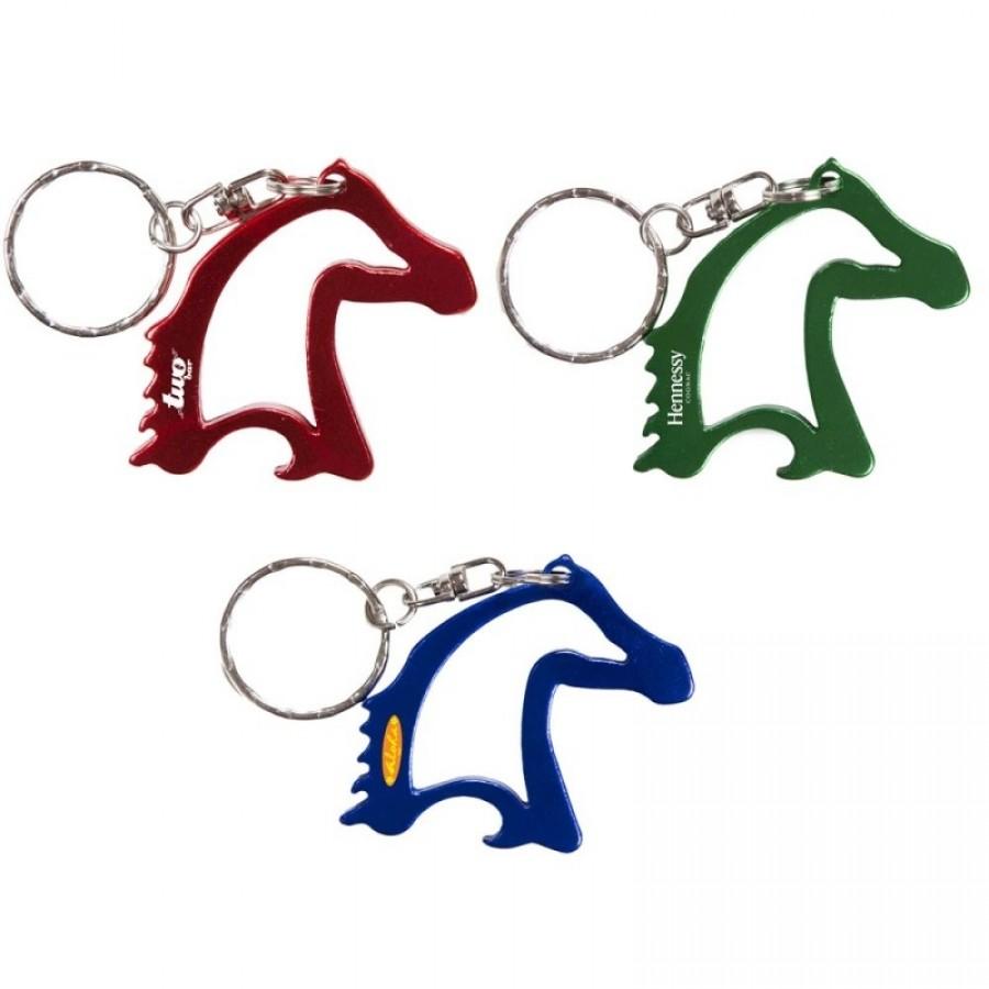 Logo Horse Head Bottle Opener
