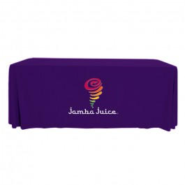 Full Color 6' Custom Table Covers - Throw Style
