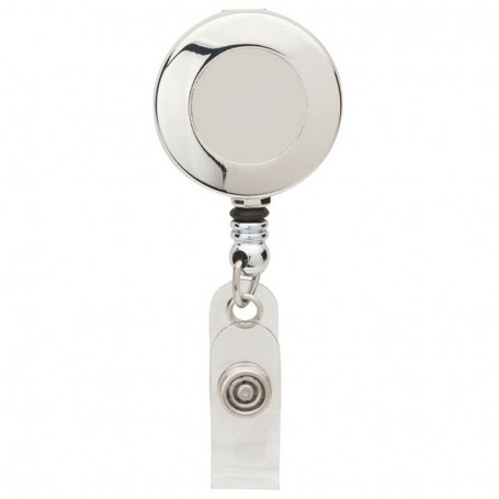 Custom Round Metal Badge Holder
