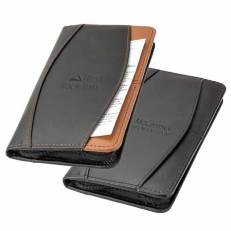 Logo-Leather-Travel-Wallet