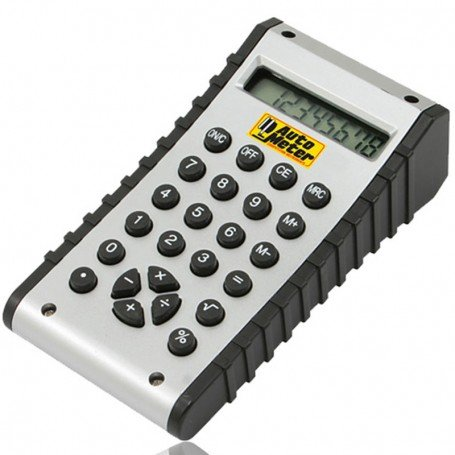 Promotional Dual Display Clock Calculator