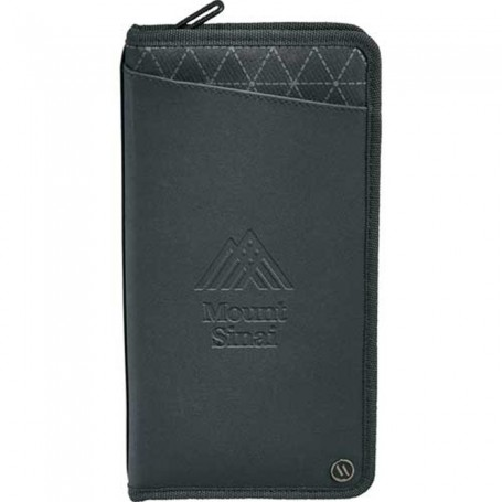 Monogrammed Elleven™ Traverse RFID Travel Wallet