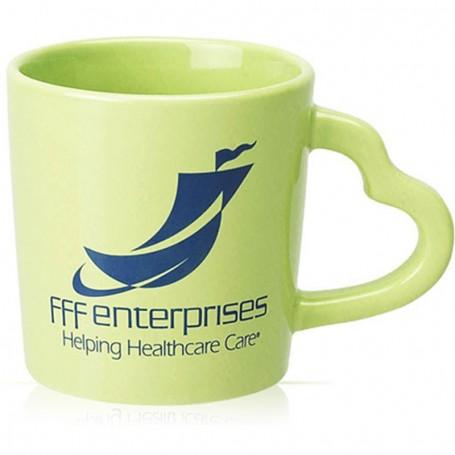 14 oz. Monogrammed Coffee Mug