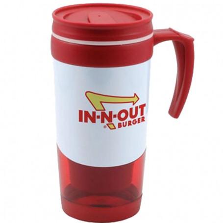 16 oz. Two-Tone Travel Mug