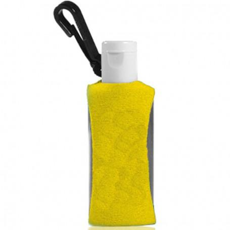 1oz Promotional Gel Sanitizer with Clip