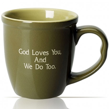 20 oz. Jumbo Two Tone Ceramic Mug