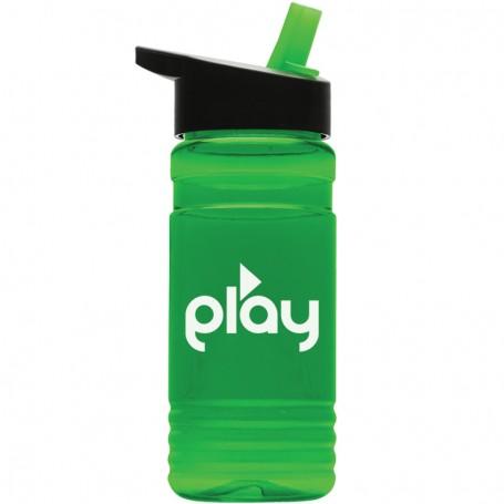 20 oz. Tritan Sports Bottle - Flip Straw Lid