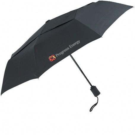 """Printable Vented Executive 43"""" Arc Mini Fold Umbrella"""