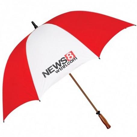 """Customizable Mulligan 64"""" Arc Golf Umbrella"""