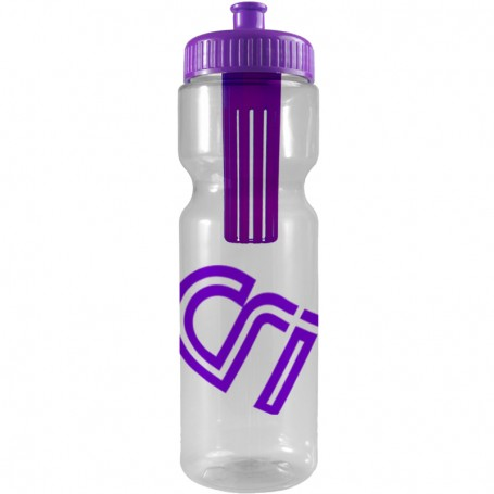 Custom Infuser 28 oz. Bottle with Push-Pull Lid - Group