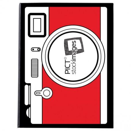 Promotional Iconic Camera Notebook