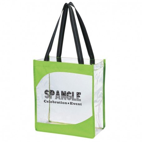 Logo Clear Wave Tote Bag