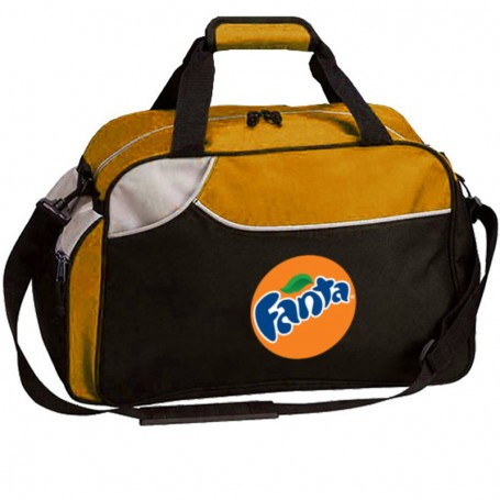 Printable Sports Duffel - Orange