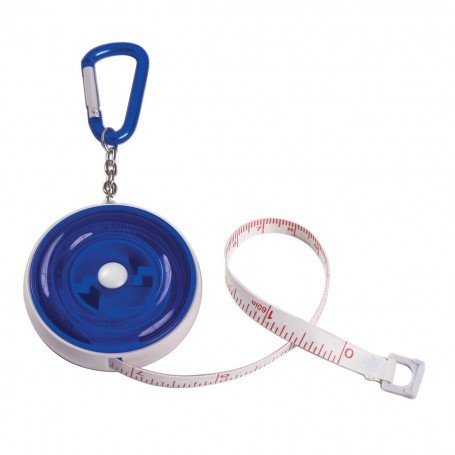 Monogrammed Tape Measure with Carabiner