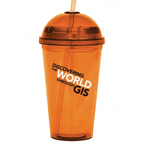 16 oz. Acrylic Tumbler with Domed Lids
