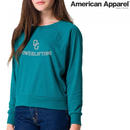 American Apparel BR394 / Tri-Blend Lightweight Raglan Pullover