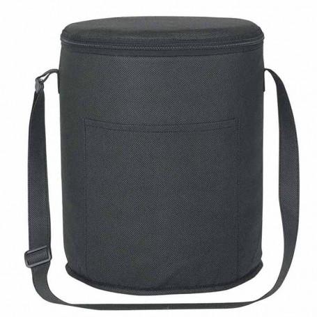 Custom Non-Woven Round 12 Pack Kooler Bag