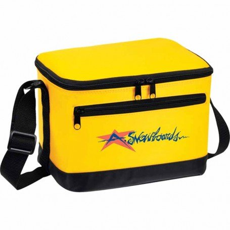 Imprinted Deluxe 6-Pack Insulated Bag