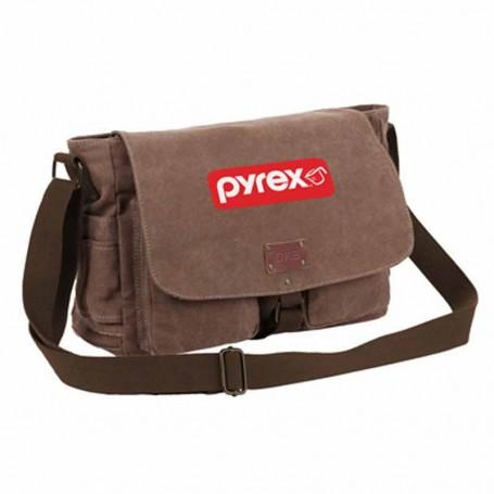 Promo Canvas Messenger Bag