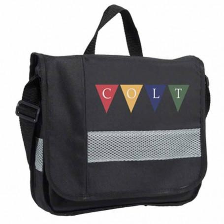 Customizable Multi Pocket Electronic Tablet Bag