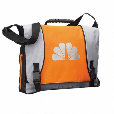 Imprintable Messenger Bag