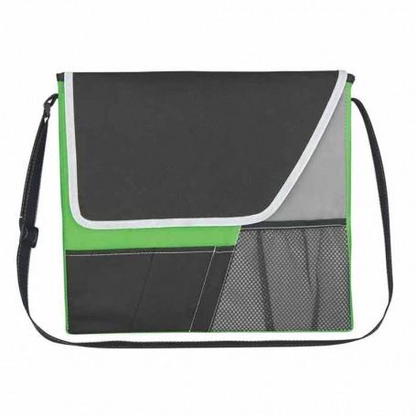 Customizable Vida Non-Woven Messenger Bag