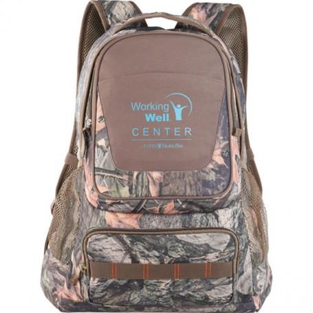 Custom Logo Hunt Valley Camo Compu-Backpack