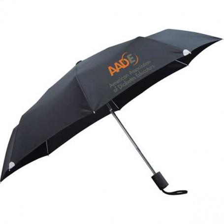 "Custom 42"" Auto Open/Close Windproof Safety Umbrella"