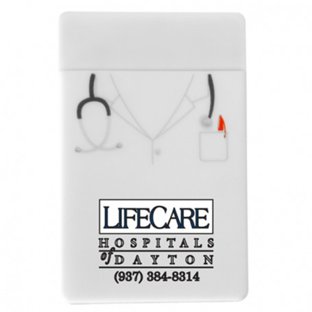 Custom Doctor Silicone Mobile Device Pocket