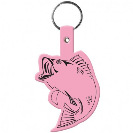 Custom Logo Fish Flexible Key-Tag