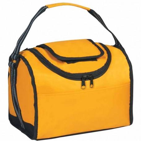 Custom Logo Flip Flap Insulated Lunch Bag